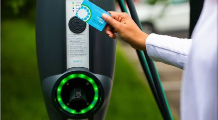 Activating an EVBox electric vehicle charging station